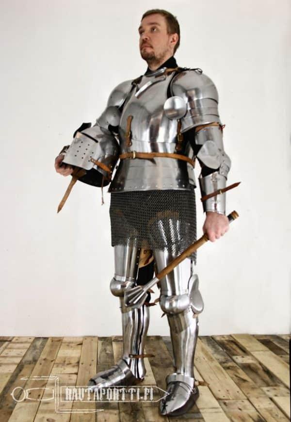 Italialaistyylin käsivarsipanssari - 1390-1450