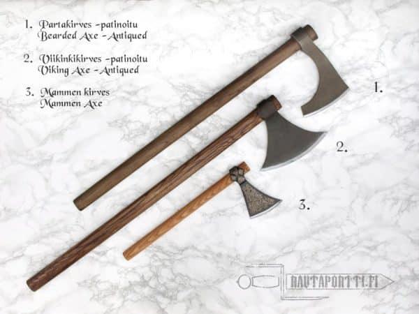 Antikoitu viikinkirves