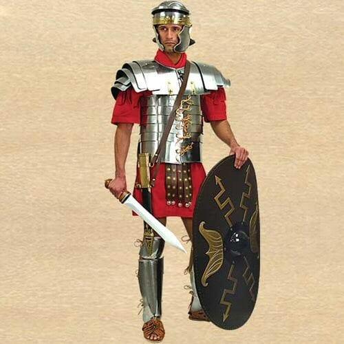 Roomalainen ovaalin muotoinen Scutum