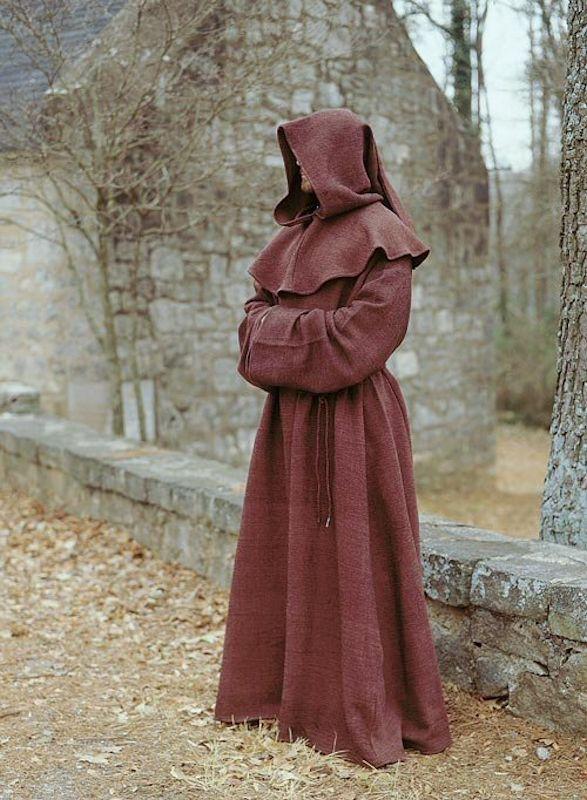 Punainen munkin / kardinaalin kaapu