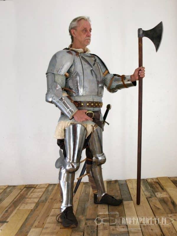 1300-luvun jalkapanssarit