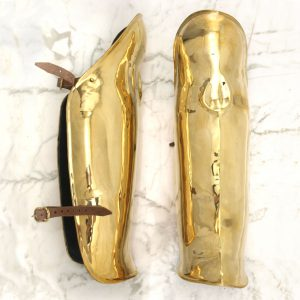 Brass Greaves